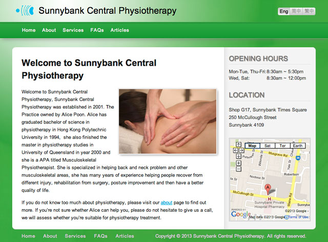 Sunnybank Central Physiotherapy